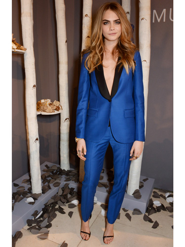 lessons on rocking a suit from Cara Delavingne 7