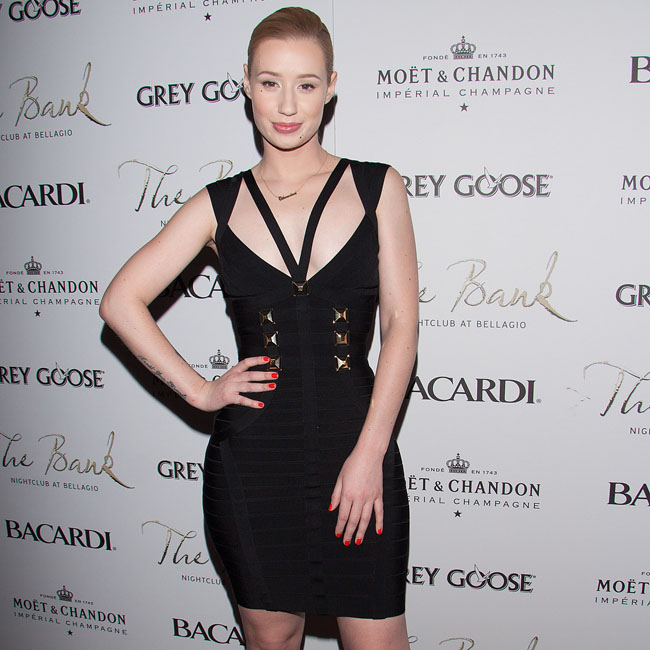 Iggy Azalea and Nick Young party at The Bank Nightclub in Las Vegas