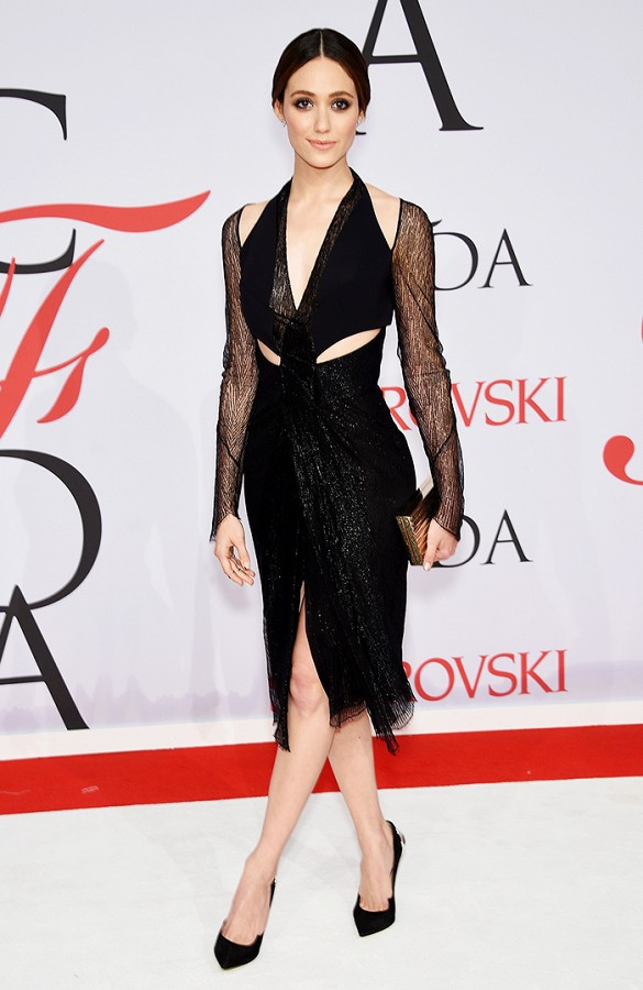 2015 CFDA Awards - Emmy Rossum