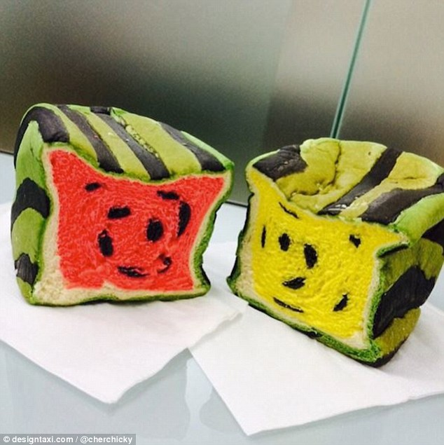 Watermelon toast 2