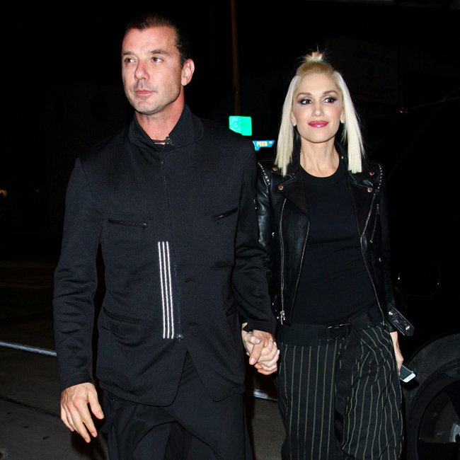 Gwen Stefani and Gavin Rossdale hold hands and have dinner together at Craig's restaurant in West Hollywood, CA. Pictured: Gwen Stefani and Gavin Rossdale Ref: SPL914688  181214   Picture by: Splash News Splash News and Pictures Los Angeles:	310-821-2666 New York:	212-619-2666 London:	870-934-2666 photodesk@splashnews.com