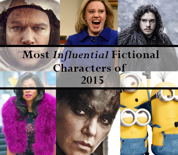 Most influential fictional characters of 2015