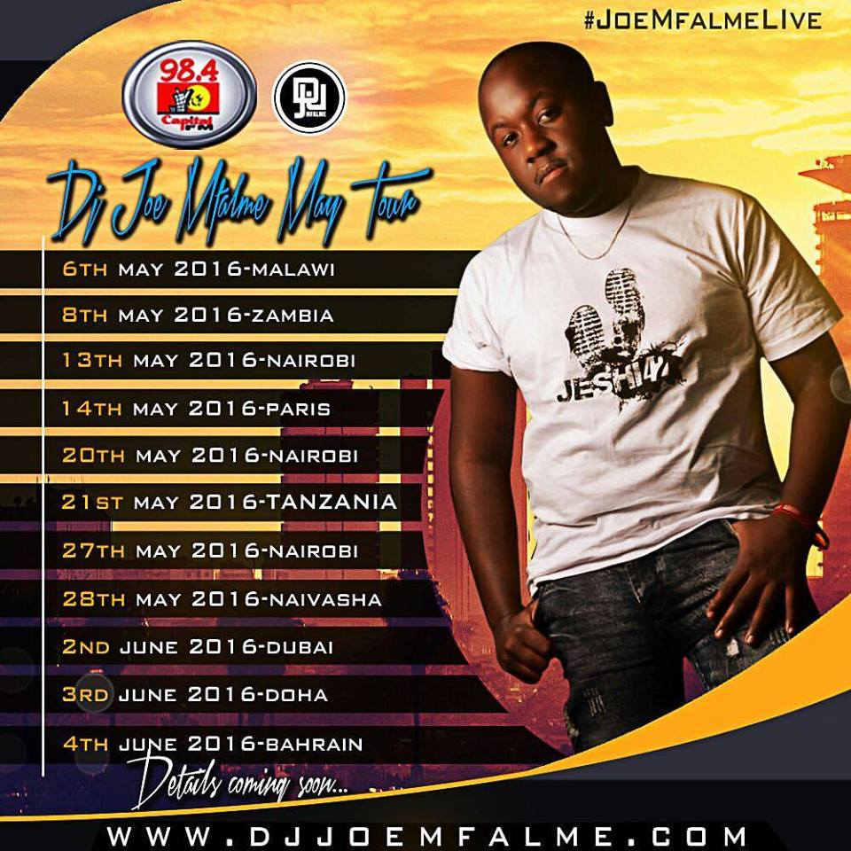 joe mfalme tour dates