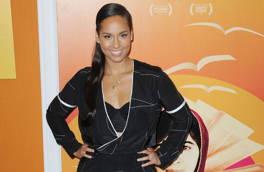 Alicia Keys attending the 'He Named Me Malala' New York premiere at the Ziegfeld Theater on September 24, 2015 in New York City. BANG MEDIA INTERNATIONAL FAMOUS PICTURES 28 HOLMES ROAD LONDON NW5 3AB UNITED KINGDOM tel +44 (0) 20 7485 1500 e-mail pictures@famous.uk.com www.famous.uk.com FAM52184