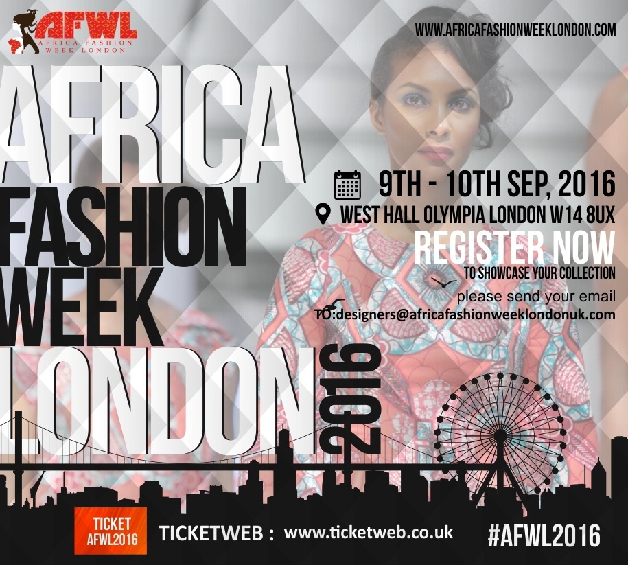 AFRICA FASHION WEEK LONDON 2016