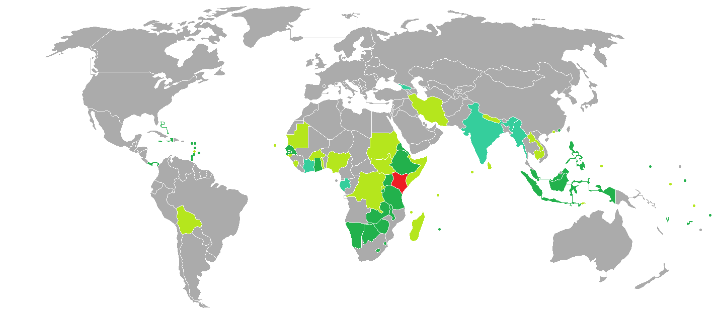 68 Countries Kenyans can travel to visa-free or obtain visa on arrival