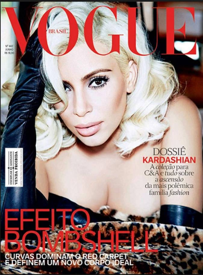Revised Business Lunch - Kim Kardashian West lands her 8th Vogue cover