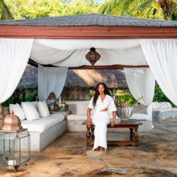 Inside the Kenyan home of British supermodel Naomi Campbell; Photo Gallery of the luxury villa