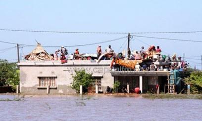 MOZAMBIQUE-FLOODS—CHOKWE