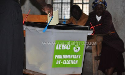 Oswago said all the ballot papers will be kept under armed guard throughout the remaining three weeks. FILE.