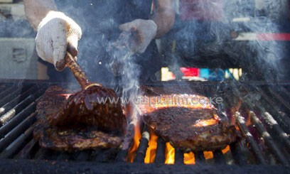 Barbecues should be strictly controlled in cities to cut emissions of pollutants/XINHUA-File