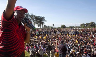Kenyatta expressed concern over combining polling streams in heavily populated areas/CFM