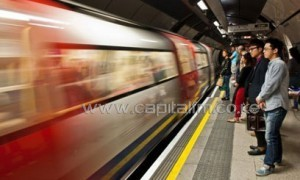 They will mark the 150th anniversary of the Tube at Baker Street Underground station/AFP-File