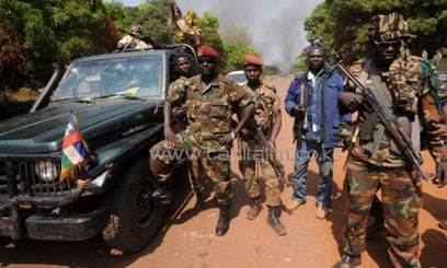 Seleka rebel coalition chief Michel Djotodia has named himself the new leader of the Central African Republic/FILE