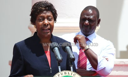 Charity Ngilu has been nominated to the Ministry of Land, Housing and Urban Devpt. Photo/ FELIX MAGARA