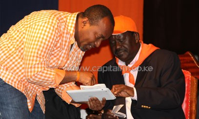 According to Odinga, IEBC has lost the confidence of the people as an elections management body, and that it has to be re-worked before the next election/FILE