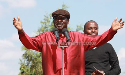 Odinga has urged the leaders to remain patient and allow him time to consult widely on the matter. PHOTO/File.