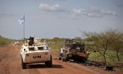 UN Secretary General Ban Ki-moon has said that attack could constitute a war crime/AFP