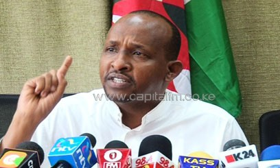 , Majority Leader Aden Duale says Jubilee will not give in to CORD's demands and they have now withdrawn the goodwill of three slots donated to CORD to increase their numbers in the committee/FILE