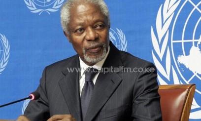 Former UN secretary general Kofi Annan/FILE
