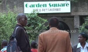 Garden Square restaurant, along City Hall Way, is popular for evening funeral arrangement meetings. Photo/ FELIX MAGARA