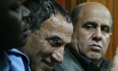 The Nairobi Chief Magistrate found the two Iranian nationals guilty of possessing explosives. Photo/FILE