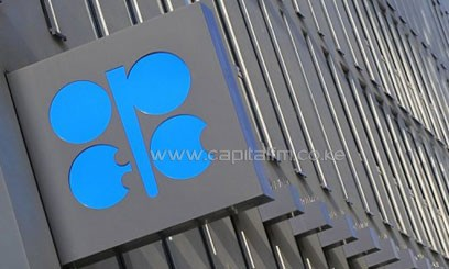 The logo of the Organization of Petroleum Exporting Countries at its headquarters building in Vienna on April 4, 2013/AFP