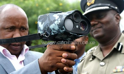 One of the cameras will monitor speeding on Mombasa Road/MIKE KARIUKI