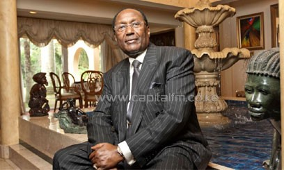 Chris Kirubi is the Chairman, Capital Group Limited