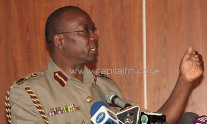 Kimaiyo had said he had put in place measures to reduce the rate of crime in the country/FILE
