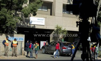 Security tightened at the Pretoria hospital where ailing anti-apartheid icon Mandela is admitted/AFP