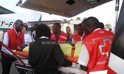 14 of the victims were on Thursday night airlifted to the Kenyatta National Hospital for specialised treatment