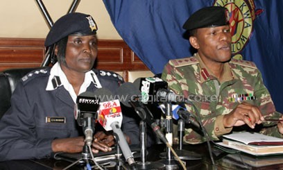 Police Spokesperson Gatiria Mboroki investigations are underway and personnel have been deployed in the area to ensure security is restored/FILE