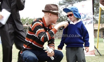 Speaking at the Albinism Screening Day in Nairobi on Sunday, the society's coordinator Isaac Mwaura said money allocated by the government for albinism is not being utilized/MUTHONI NJUKI