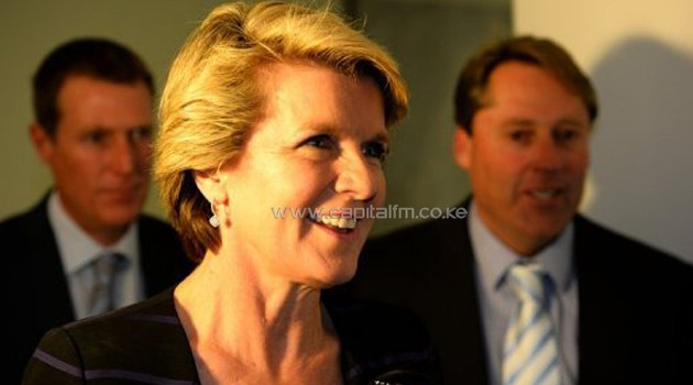 Julie Bishop, pictured in Canberra on September 13, 2013, is the sole woman in Tony Abbott's cabinet/AFP