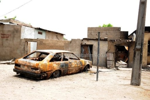Maiduguri is at the centre of Boko Haram's insurgency/AFP