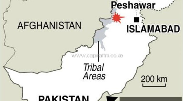 A bomb explosion on Sunday killed at least 31 people in Pakistan's northwestern city of Peshawar/AFP