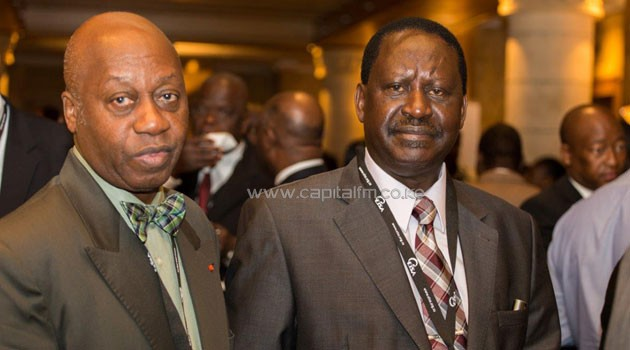 Odinga said the ethnic based coalitions pose a big threat to the advancement of democracy in Africa/CFM