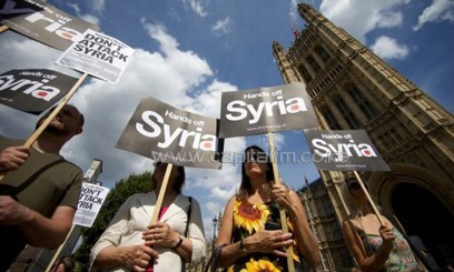 Syria demonstrators take to the streets/FILE