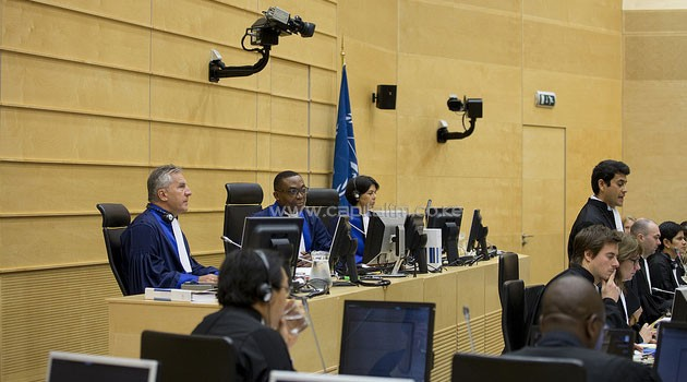 The trial against William Ruto and Joshua arap Sang kicked off at the ICC on Tuesday. Photo/ ICC