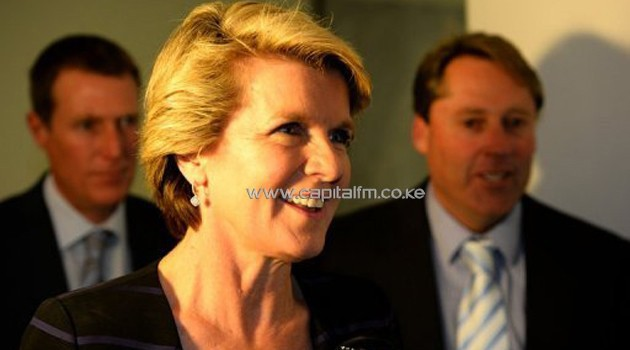 Julie Bishop, pictured in Canberra/AFP