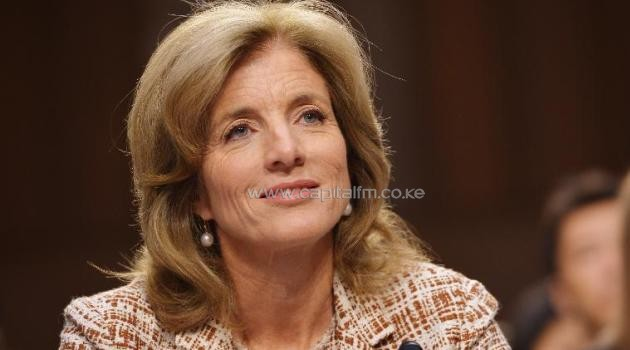 Caroline Kennedy testifies before the Senate Foreign Relations Committee on her nomination to be ambassador to Japan in the Hart Senate Office Building on Capitol Hill in Washington, DC, on September 19, 2013/AFP