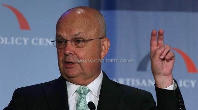 Former CIA and National Security Agency chief Michael Hayden, pictured in August, 2013, was overheard criticizing President Barack Obama's administration in what he thought was an anonymous interview, which instead ended up on Twitter/AFP