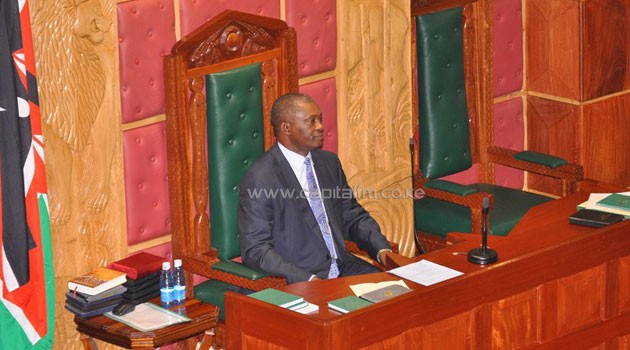 National Assembly Speaker Justin Muturi said he had received the petition signed by Nicholas Mugambi/FILE