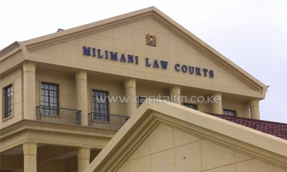 The Milimani Law Courts in Nairobi. Photo/ FILE