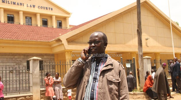 Justice George Odunga said that the Principal Judge will determine whether to merge the case with the one lodged by the Interior Ministry seeking Barasa's arrest and extradition to The Hague-based court under the International Crimes Act/FILE
