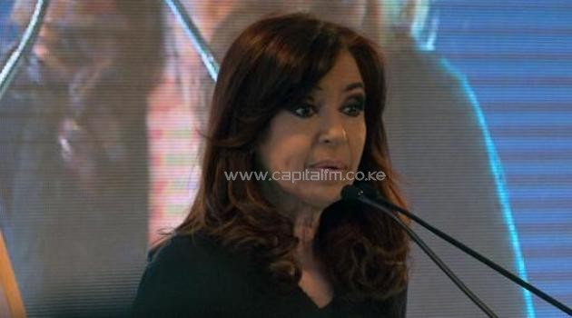 Argentina's President Cristina Kirchner, pictured August 27, has been ordered to rest for a month after doctors found a brain hemorrhage linked to an August incident/AFP