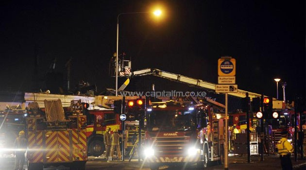 Police helicopter crashes on scottish pub capital news emergency services gather at the scene of a police helicopter that crashed into the roof of malvernweather Images