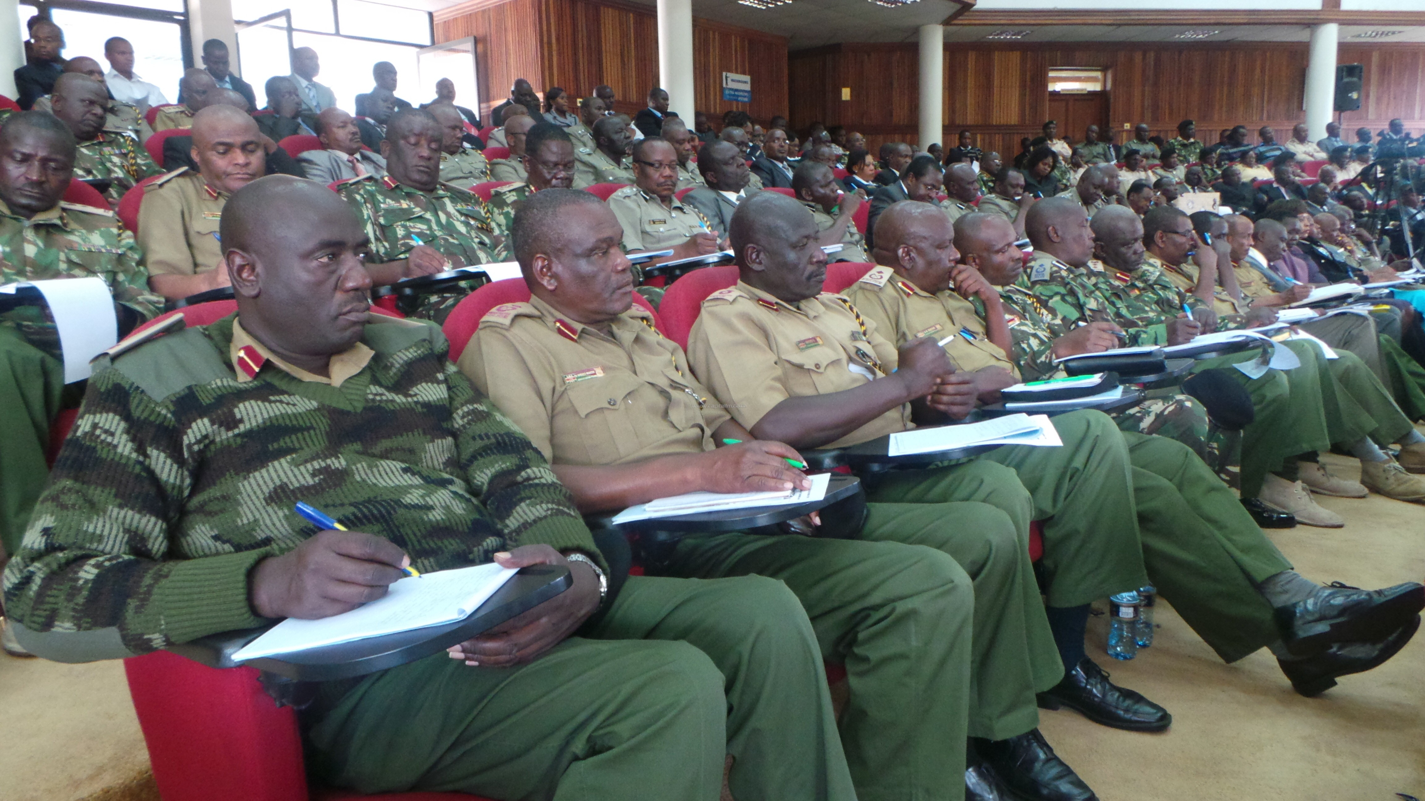 The 100 days Rapid Results Initiative forum was attended by all senior police offices in the country including the Inspector General of Police David Kimaiyo/MIKE KARIUKI