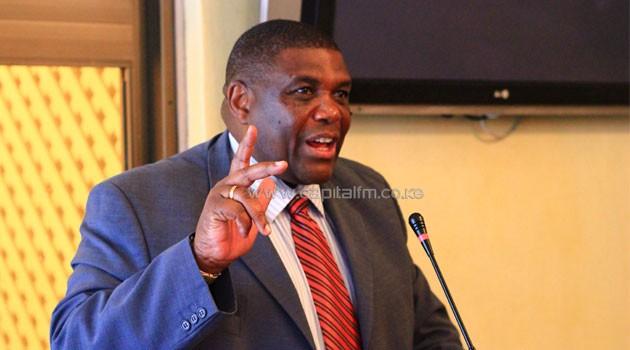 Pan African Forum chairman David Matsanga. Photo/ FILE
